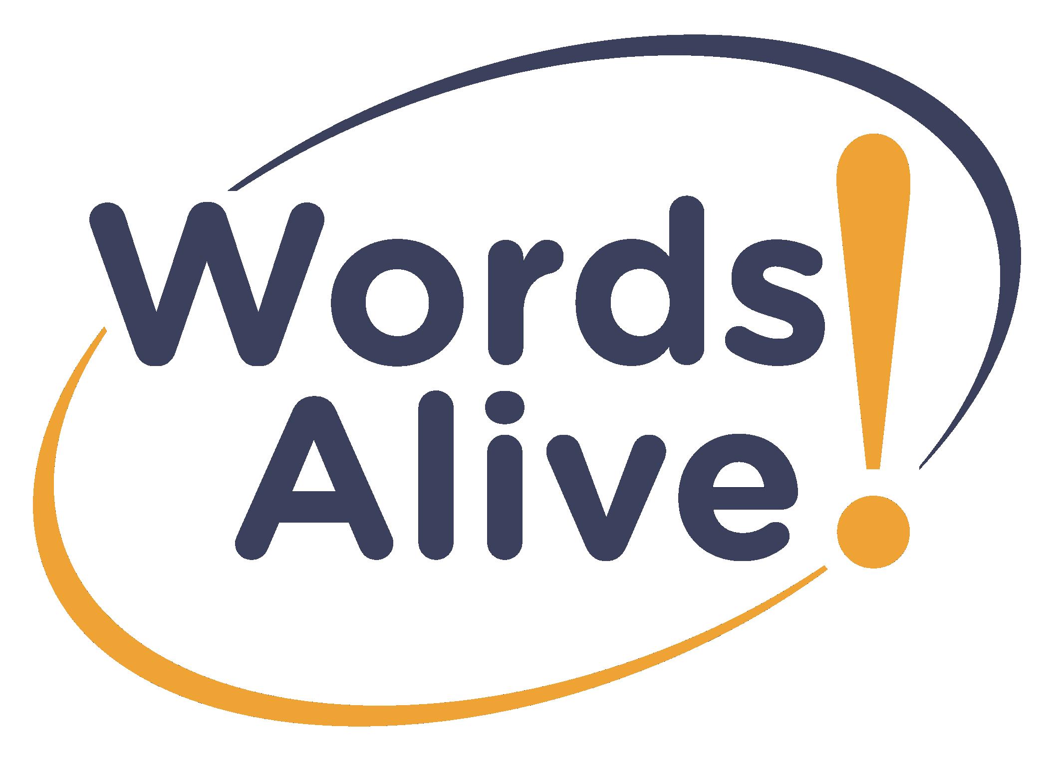 Words Alive! logo